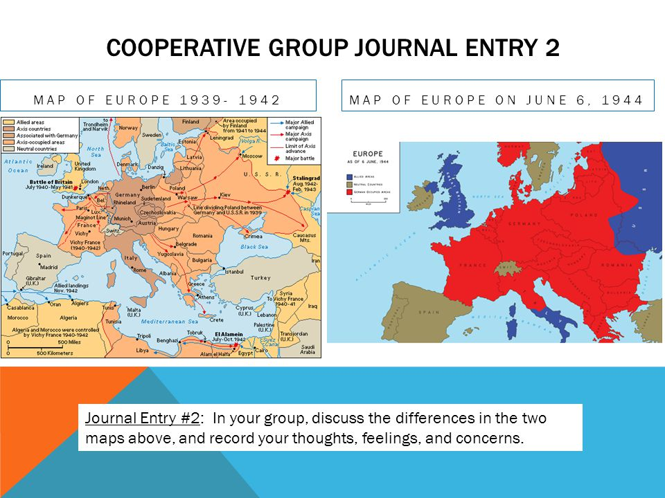 Cooperative Group Journal Entry 2