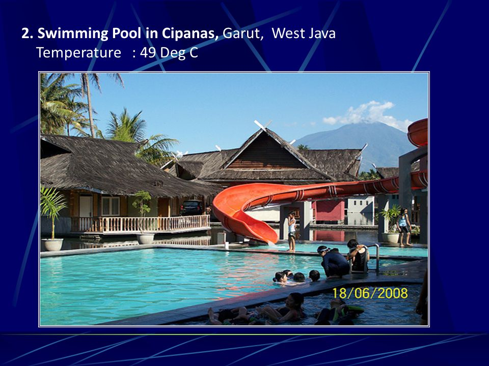2. Swimming Pool in Cipanas, Garut, West Java