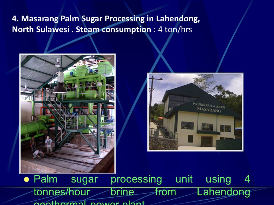 4. Masarang Palm Sugar Processing in Lahendong,