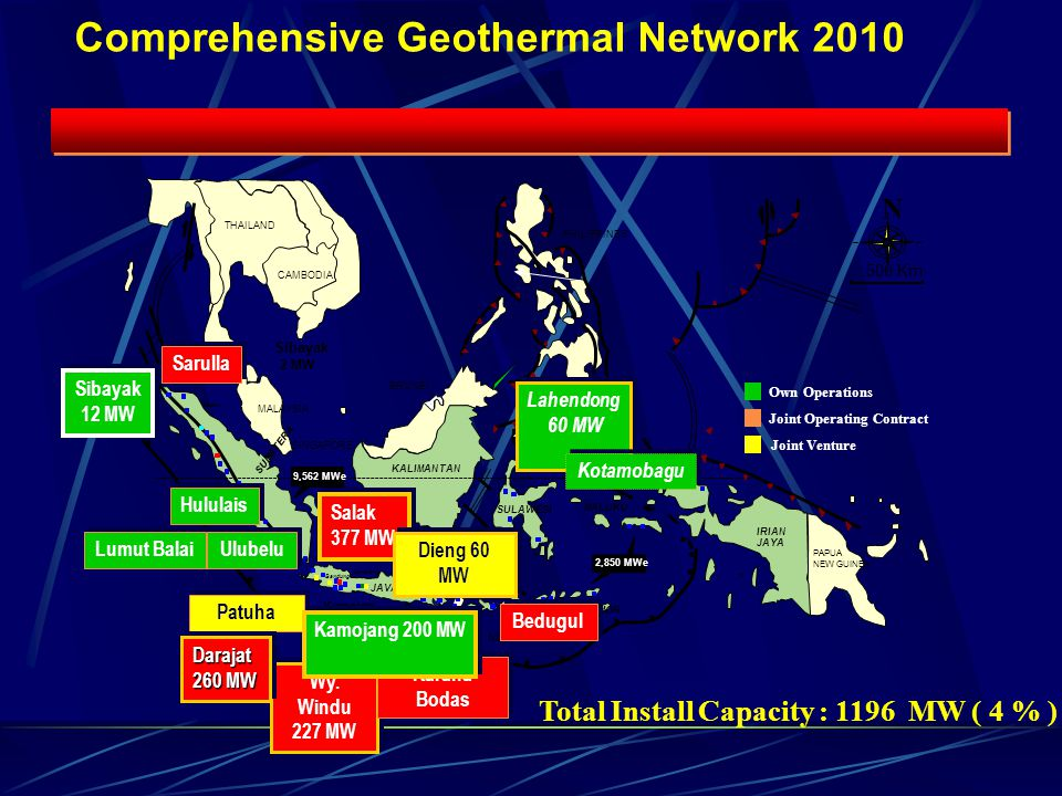 Comprehensive Geothermal Network 2010