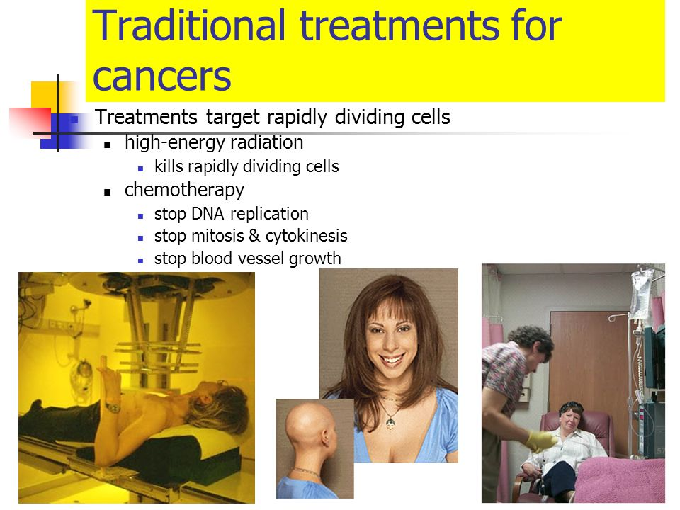 Traditional treatments for cancers