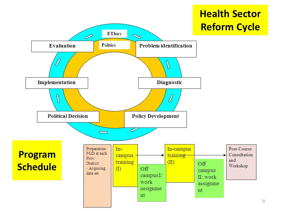 Health Sector Reform Cycle