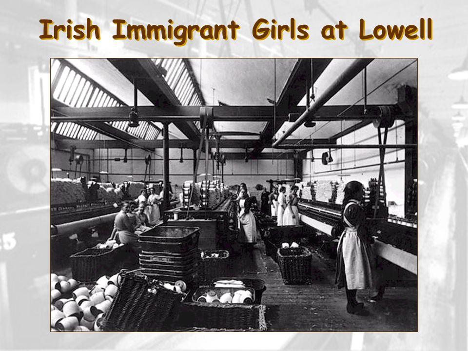 Irish Immigrant Girls at Lowell