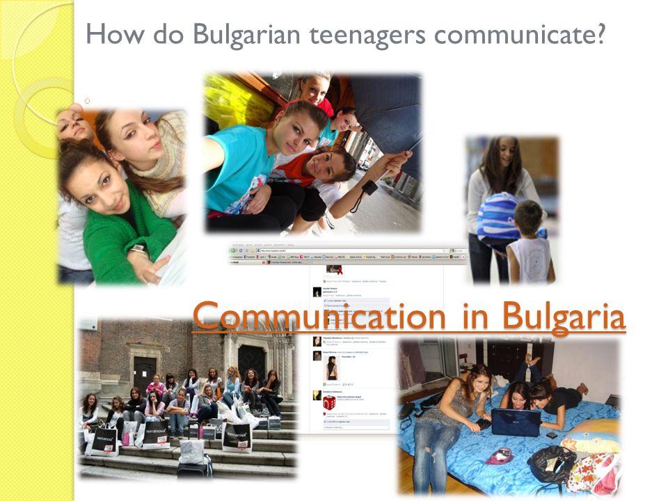 Communication in Bulgaria