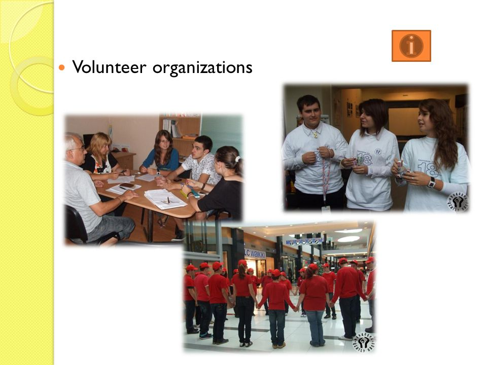 Volunteer organizations