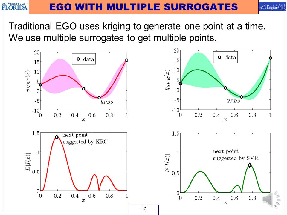 EGO WITH MULTIPLE SURROGATES