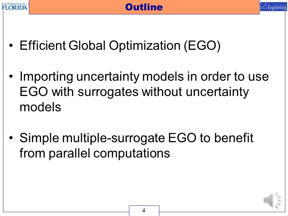 Efficient Global Optimization (EGO)