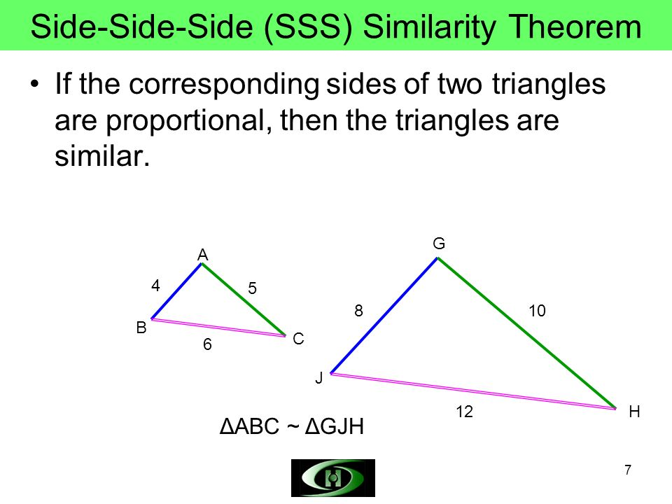 Side-Side-Side (SSS) Similarity Theorem