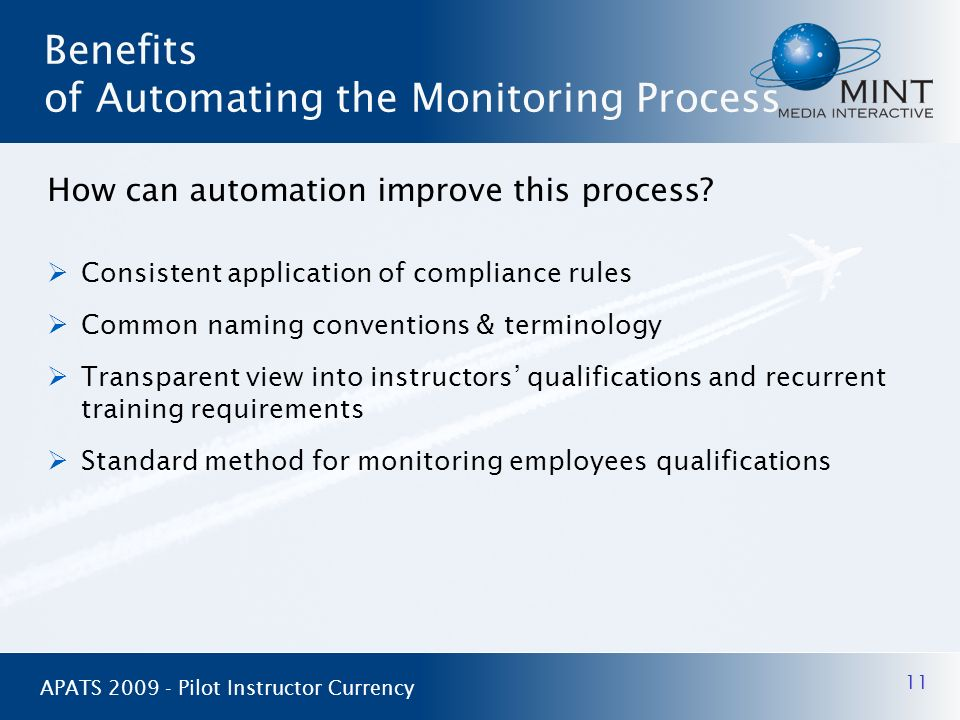 Benefits of Automating the Monitoring Process