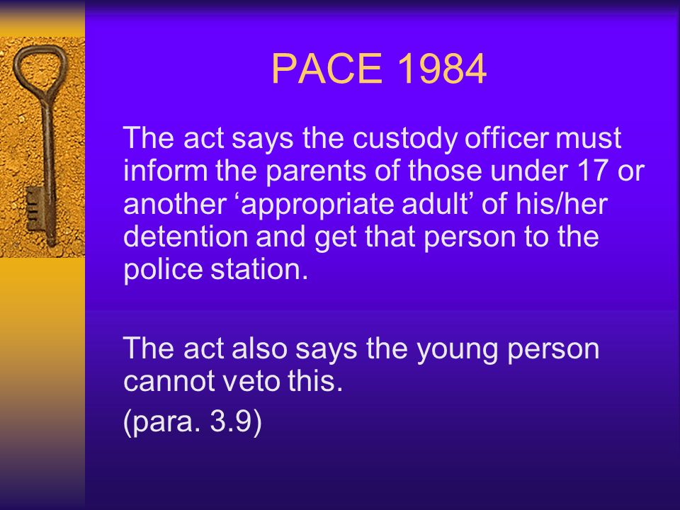 PACE 1984