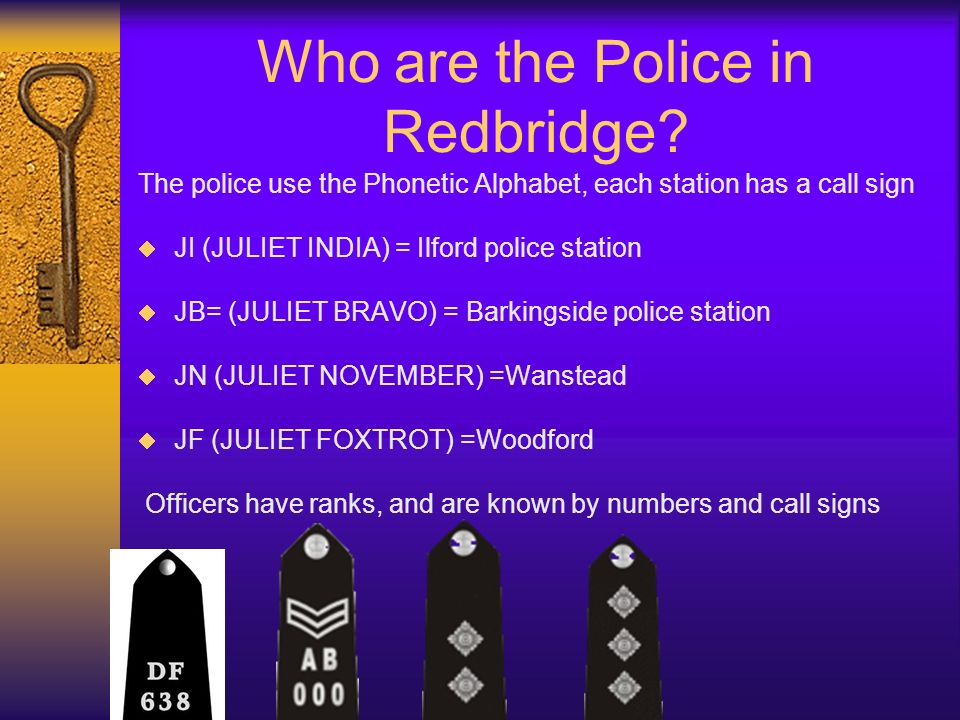 Who are the Police in Redbridge