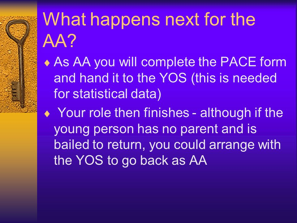What happens next for the AA