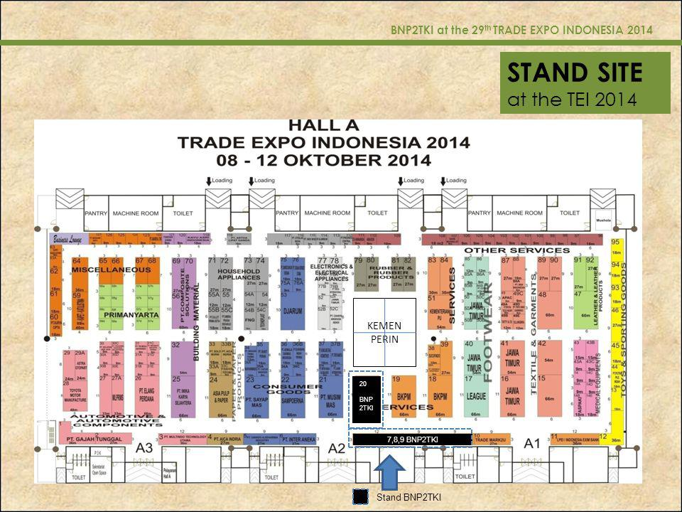 BNP2TKI at the 29th TRADE EXPO INDONESIA 2014