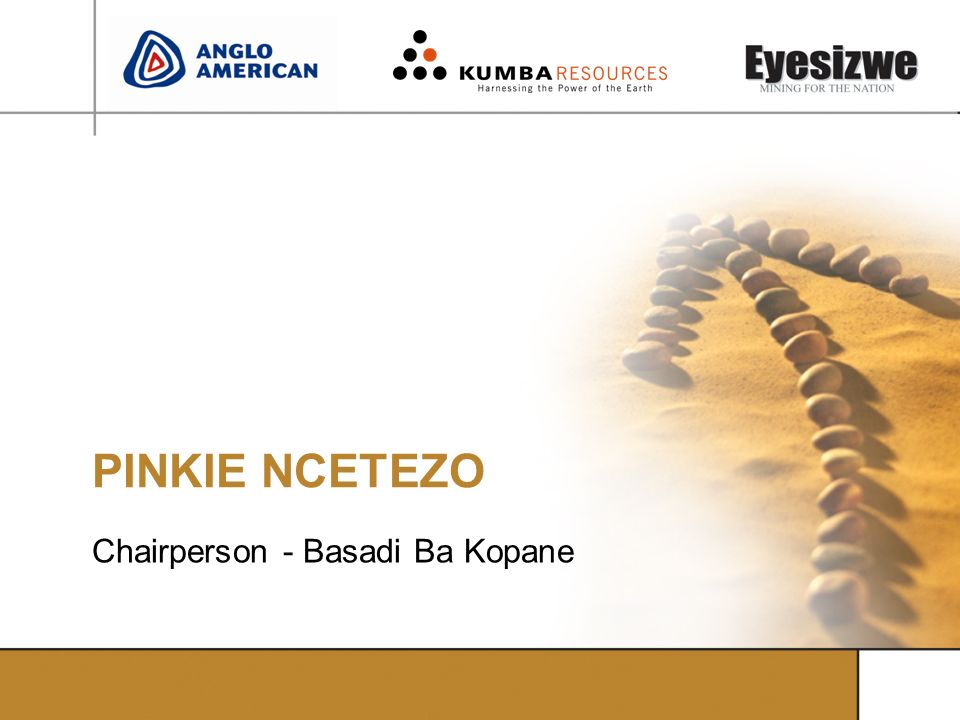 Chairperson - Basadi Ba Kopane