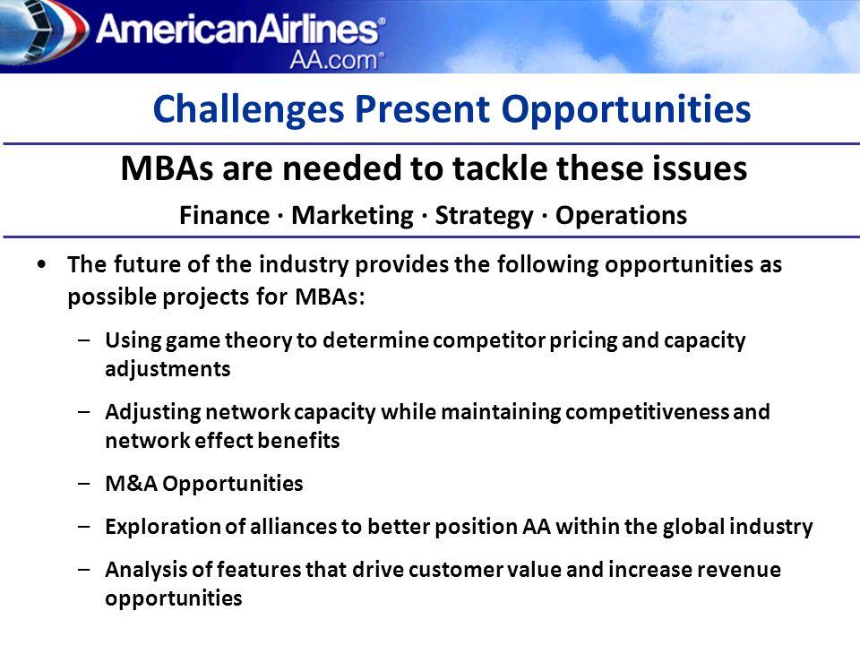 Challenges Present Opportunities