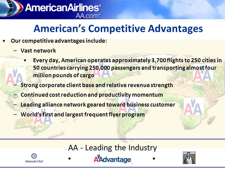 American's Competitive Advantages