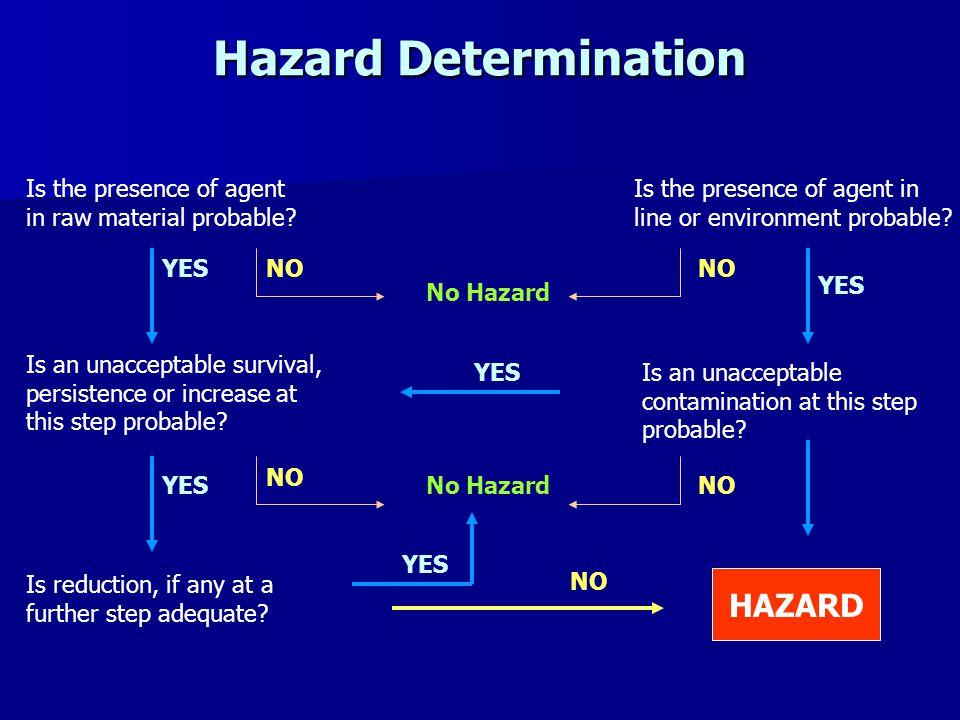 Hazard Determination HAZARD