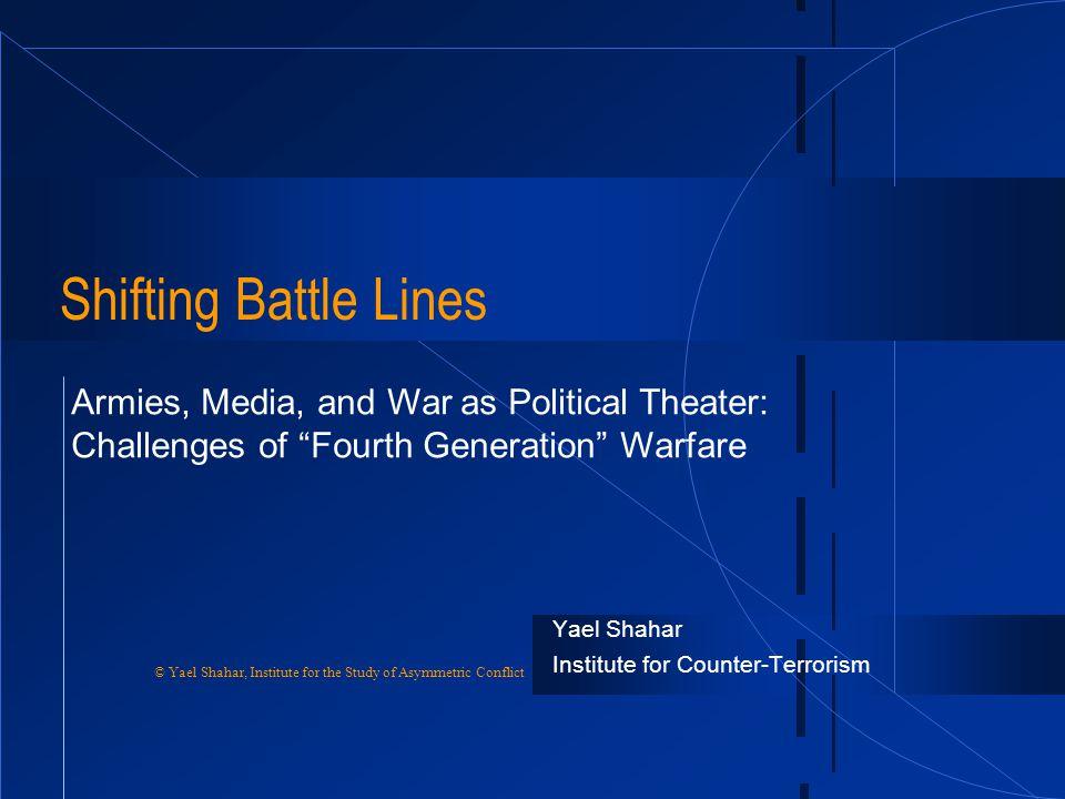 Yael Shahar Institute for Counter-Terrorism