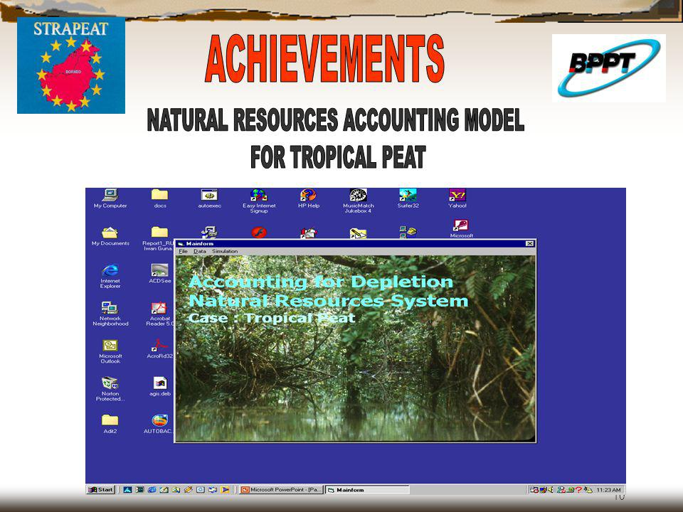 NATURAL RESOURCES ACCOUNTING MODEL