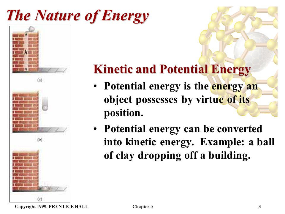 The Nature of Energy Kinetic and Potential Energy