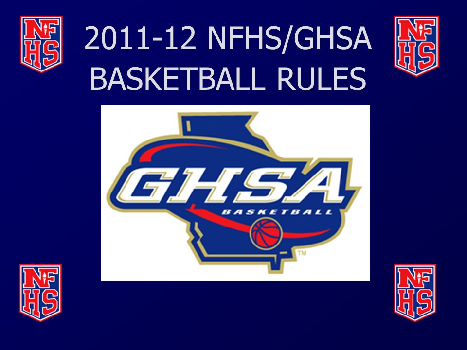NFHS/GHSA BASKETBALL RULES