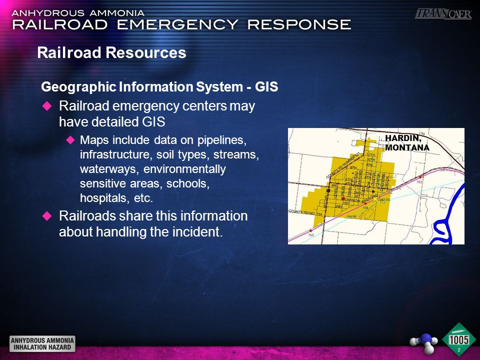 Railroad Resources Geographic Information System - GIS