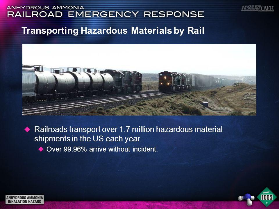 Transporting Hazardous Materials by Rail