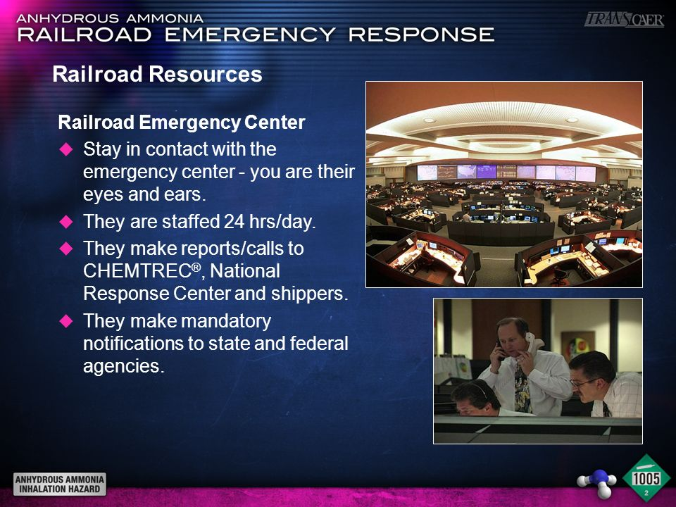 Railroad Resources Railroad Emergency Center