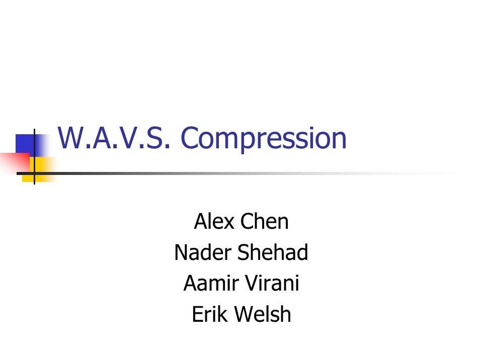 Alex Chen Nader Shehad Aamir Virani Erik Welsh