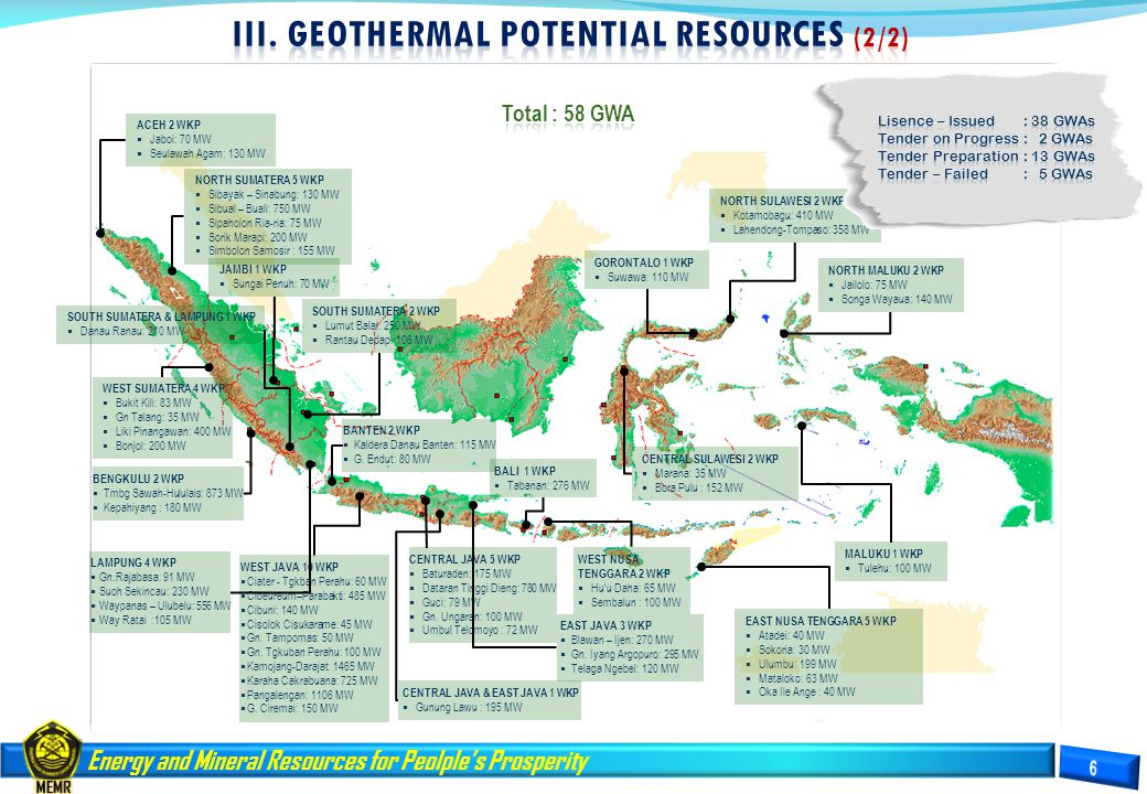 IiI. GEOTHERMAL POTENTIAL RESOURCES (2/2)