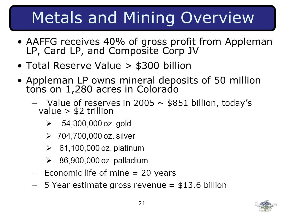 Metals and Mining Overview