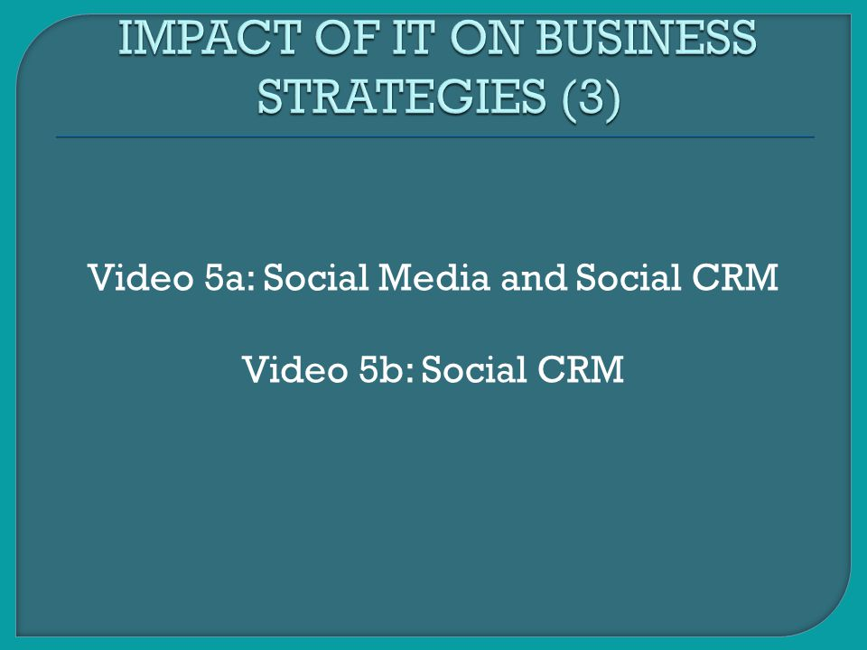 IMPACT OF IT ON BUSINESS STRATEGIES (3)