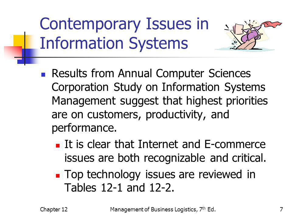 Contemporary Issues in Information Systems