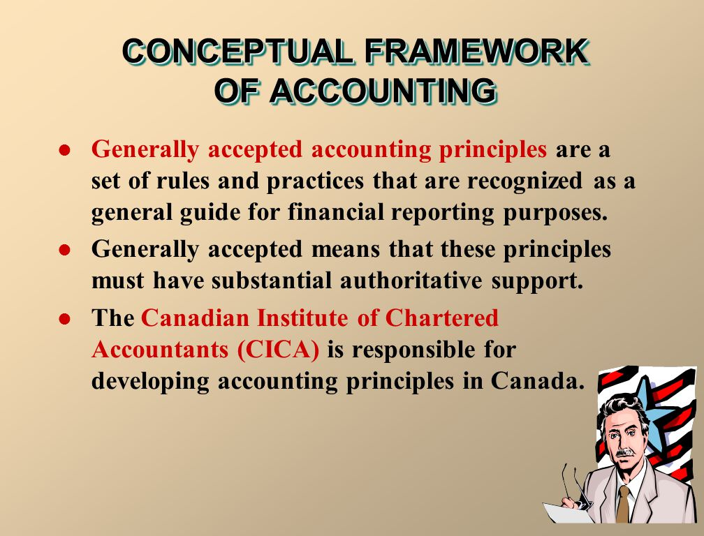 CONCEPTUAL FRAMEWORK OF ACCOUNTING