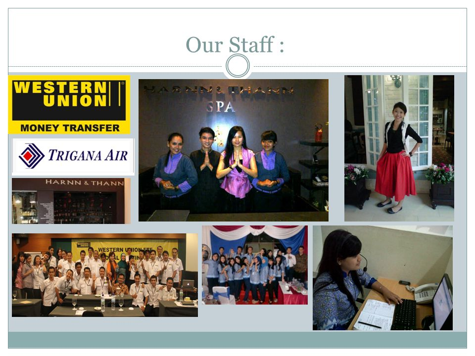 Our Staff :