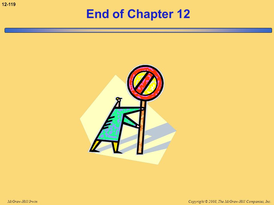 3-119 End of Chapter 12 End of chapter 12.