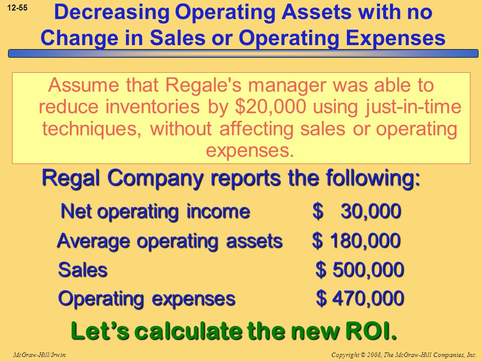 Let's calculate the new ROI.
