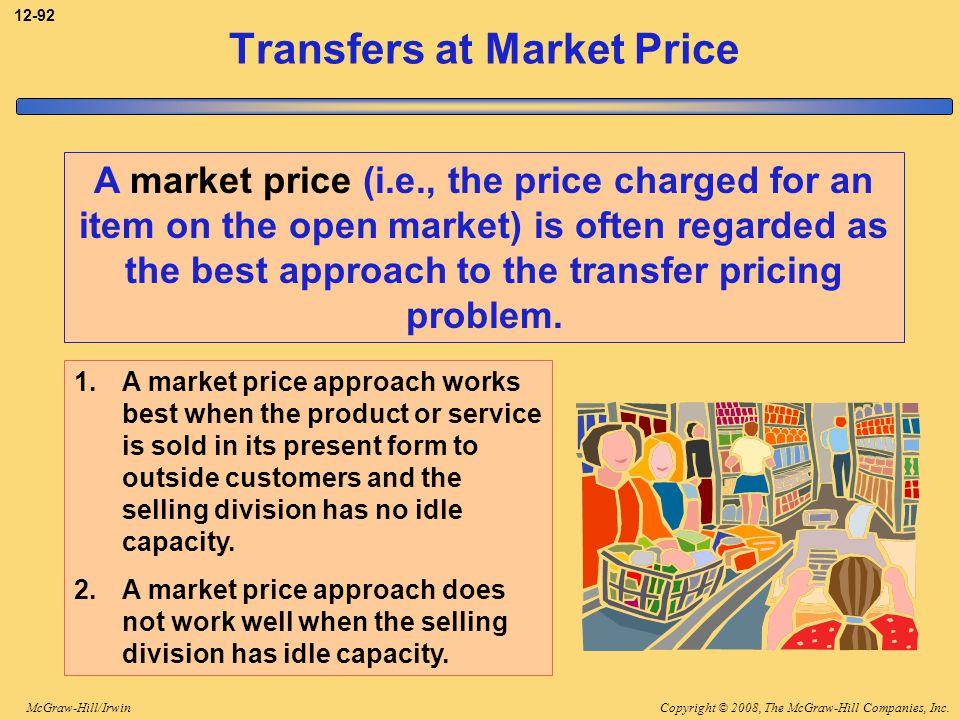 Transfers at Market Price