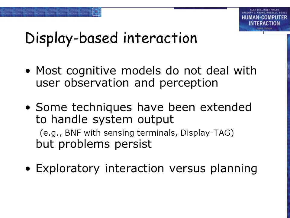 Display-based interaction