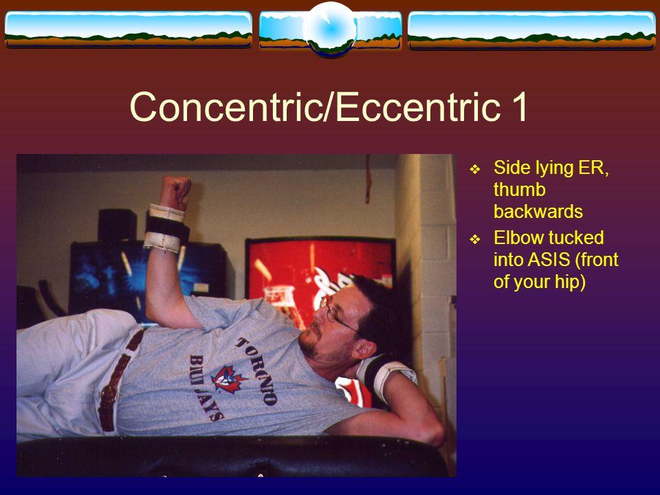 Concentric/Eccentric 1