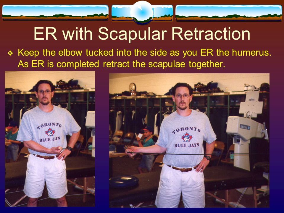 ER with Scapular Retraction