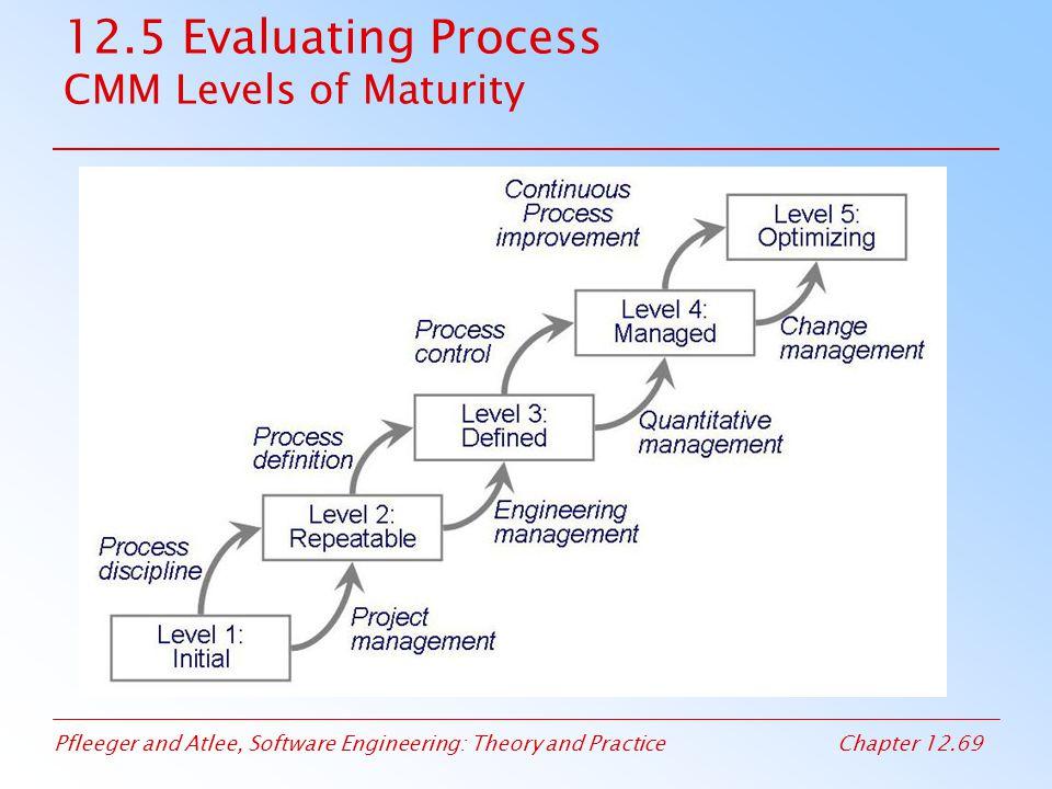12.5 Evaluating Process CMM Levels of Maturity