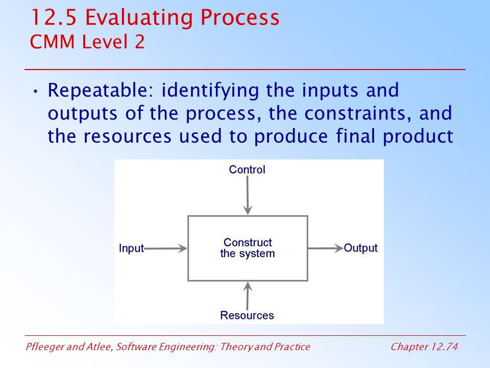 12.5 Evaluating Process CMM Level 2