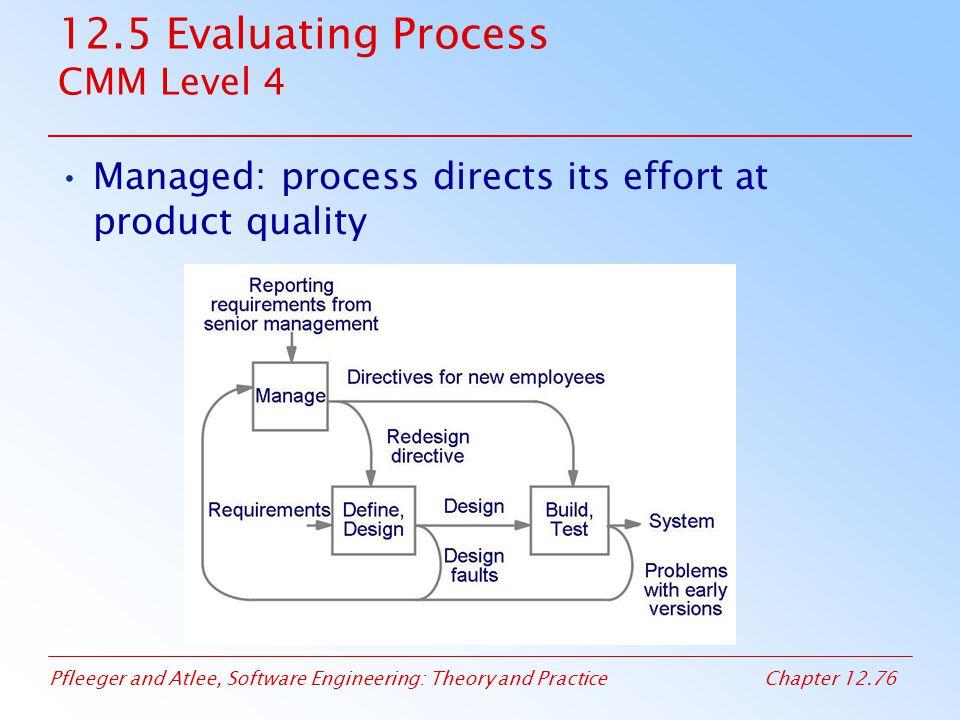 12.5 Evaluating Process CMM Level 4