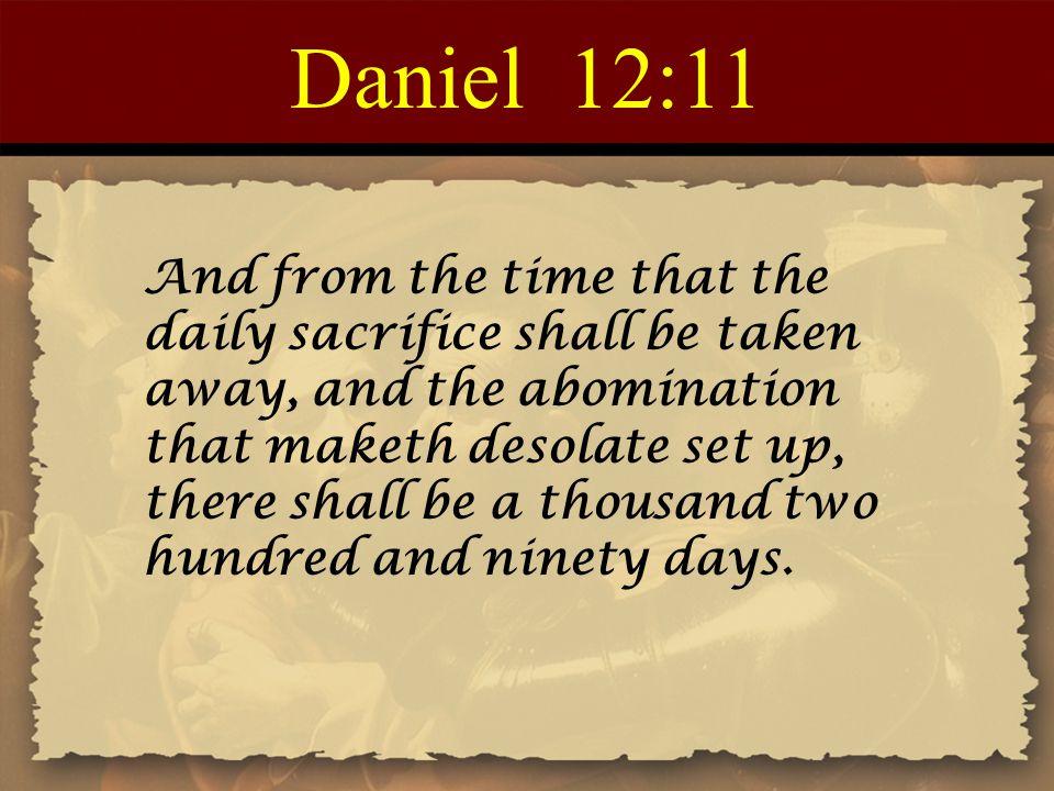 Daniel 12:11