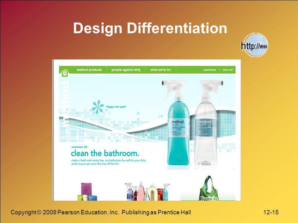 Design Differentiation