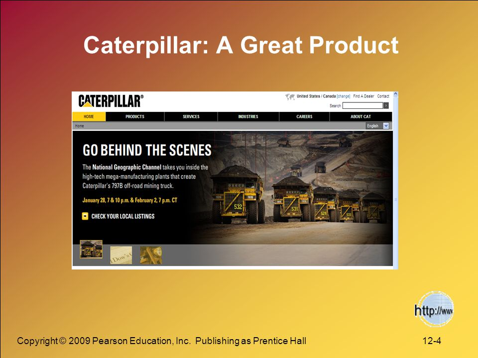 Caterpillar: A Great Product