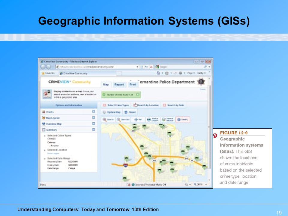 Geographic Information Systems (GISs)