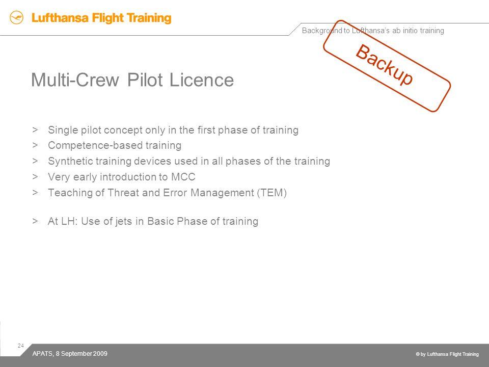 Multi-Crew Pilot Licence