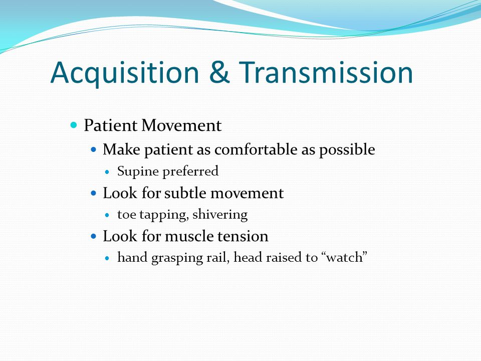 Acquisition & Transmission